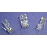 Crimp connector (CAT 5E), 50 pieces.