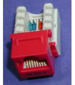 Cat 5E modular jacks
