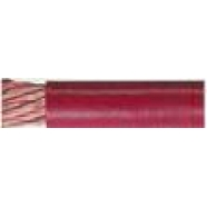 Battery cable,red, 1 ga, 25' roll.