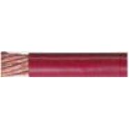 Battery cable, red, 2 ga, 25' roll.