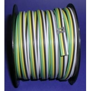 Bonded parallel wire, 16 ga, 4 cond, 100 foot roll, #BP164-C