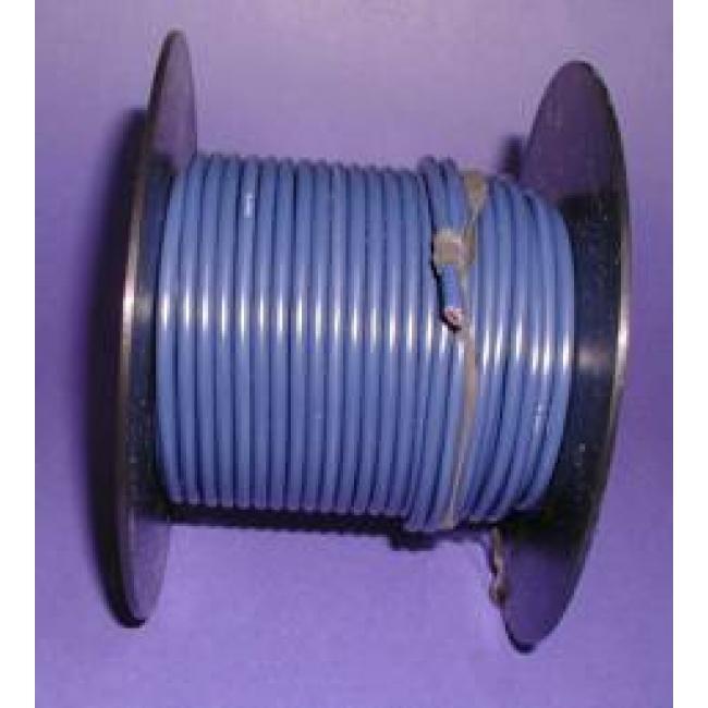 Primary wire, 12 ga blue, 100 foot roll, #PC12BLU-C