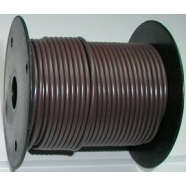 Primary wire, 18 ga, brown, 100 foot roll, #PC18BRN-C