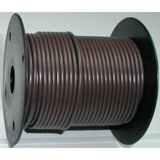 Primary wire, 12 ga brown, 100 foot roll, #PC12BRN-C