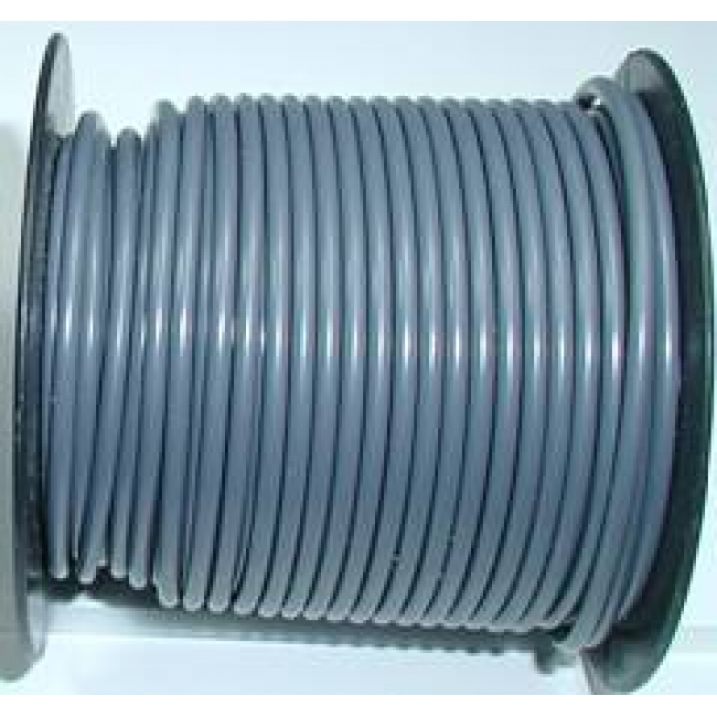 Primary wire, 12 ga gray, 100 foot roll, #PC12GRY-C