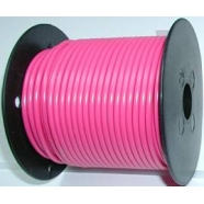 Primary wire, 18 ga, pink.100 foot roll, #PC18PNK-C