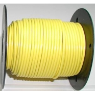 Primary wire, 18 ga, yellow. 100 foot roll, #PC18YEL-C