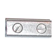Alluminum butt splice, 14-2 ga wire