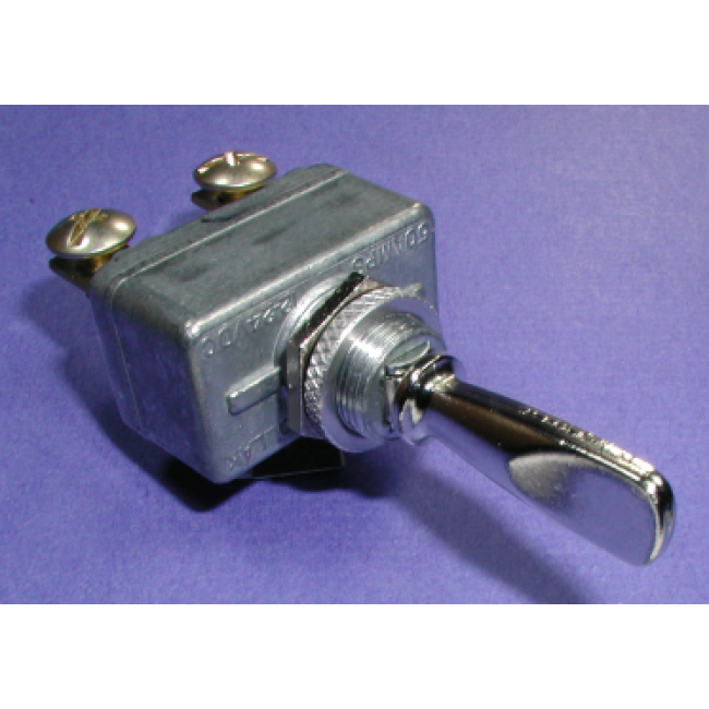 Toggle Switch  Spdt  50 Amp 12 Volt   Dc Heavy Duty  On