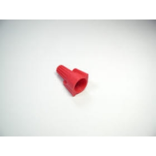 Winged twist on wire connector, twist on, red, 100 pcs